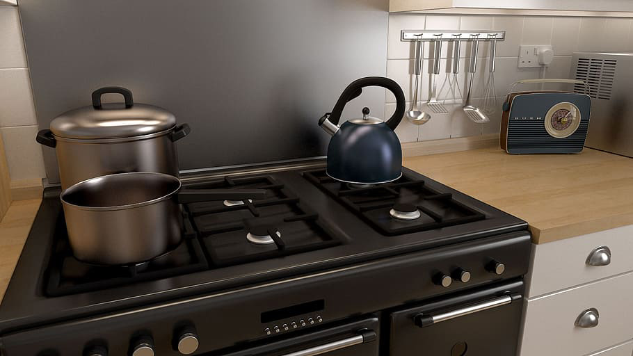 Gas Cooker and Hob